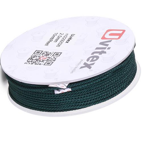 ∅2.0 - М229 - Шелковый плетеный шнур | Цвет 26