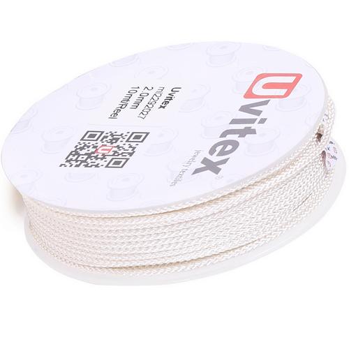 ∅2.0 - М229 - Шелковый плетеный шнур | Цвет 27