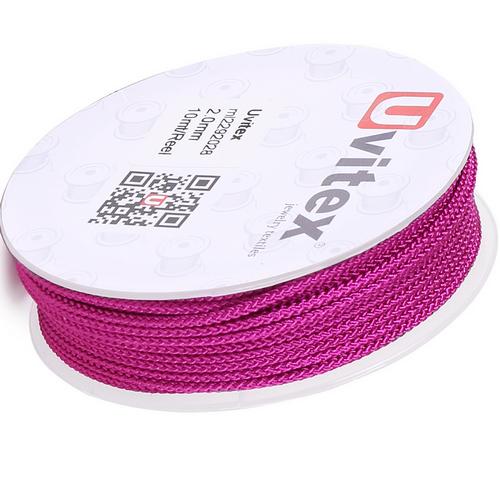 ∅2.0 - М229 - Шелковый плетеный шнур | Цвет 28