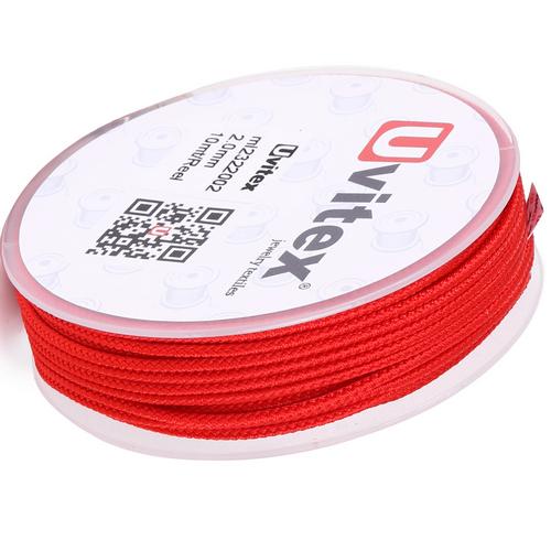∅2.0 - М232- Шелковый плетеный шнур | Цвет 02