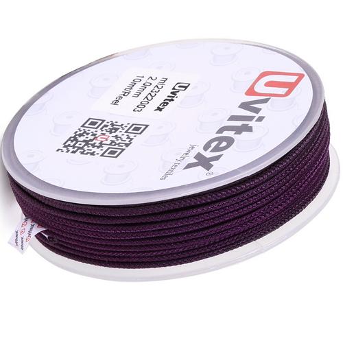∅2.0 - М232- Шелковый плетеный шнур | Цвет 03