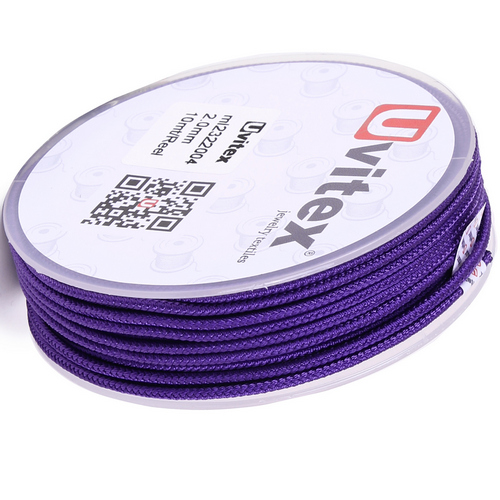 ∅2.0 - М232- Шелковый плетеный шнур | Цвет 04