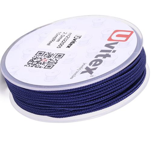 ∅2.0 - М232- Шелковый плетеный шнур | Цвет 05