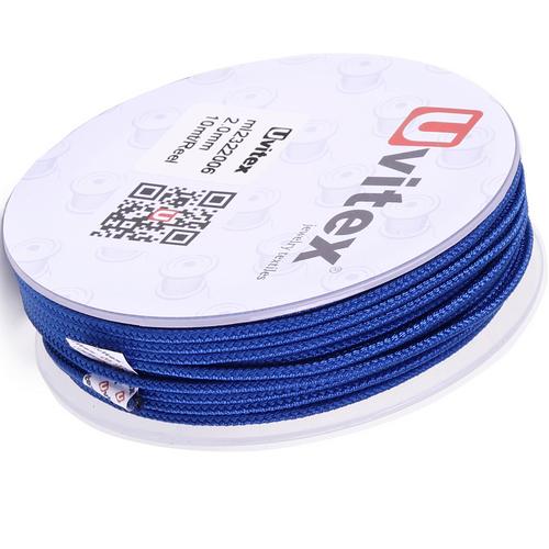 ∅2.0 - М232- Шелковый плетеный шнур | Цвет 06