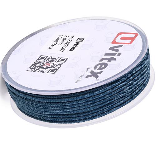 ∅2.0 - М232- Шелковый плетеный шнур | Цвет 07
