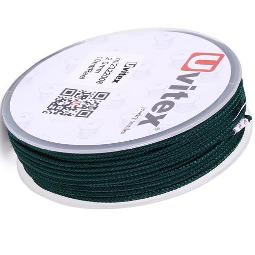 ∅2.0 - М232- Шелковый плетеный шнур | Цвет 08