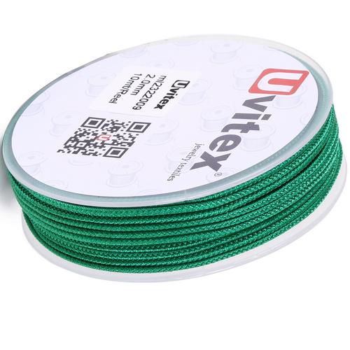 ∅2.0 - М232- Шелковый плетеный шнур | Цвет 09