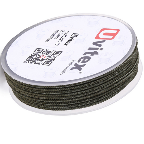 ∅2.0 - М232- Шелковый плетеный шнур | Цвет 10