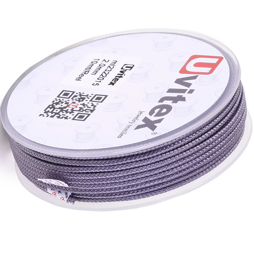 ∅2.0 - М232- Шелковый плетеный шнур | Цвет 15