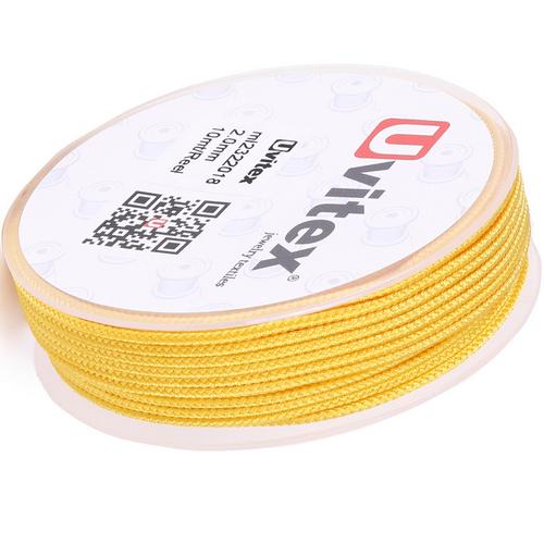 ∅2.0 - М232- Шелковый плетеный шнур | Цвет 18
