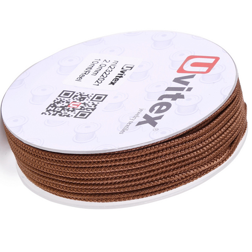 ∅2.0 - М232- Шелковый плетеный шнур | Цвет 21
