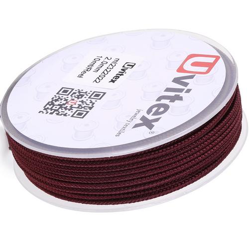 ∅2.0 - М232- Шелковый плетеный шнур | Цвет 22