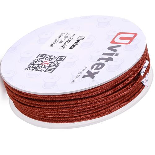 ∅2.0 - М232- Шелковый плетеный шнур | Цвет 23