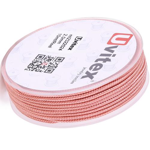 ∅2.0 - М232- Шелковый плетеный шнур | Цвет 24