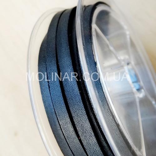 3.5 х 2.5 Кожаный шнурок | Черный