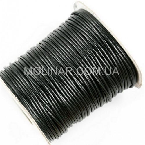 ∅2.0 Вощеный синтетический шнур | Черный