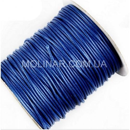 ∅2.0 Вощеный синтетический шнур | Синий