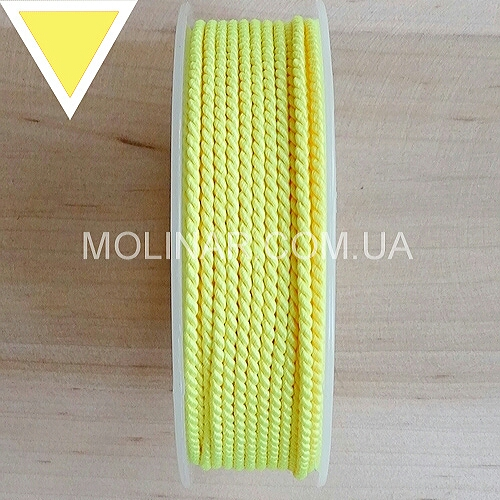 Шелковый шнур GRIFF - ∅2.0 | Желтый