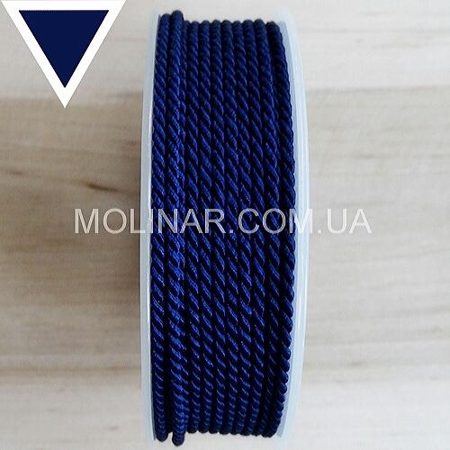 Шелковый шнур GRIFF - ∅2.0 | Темно-синий