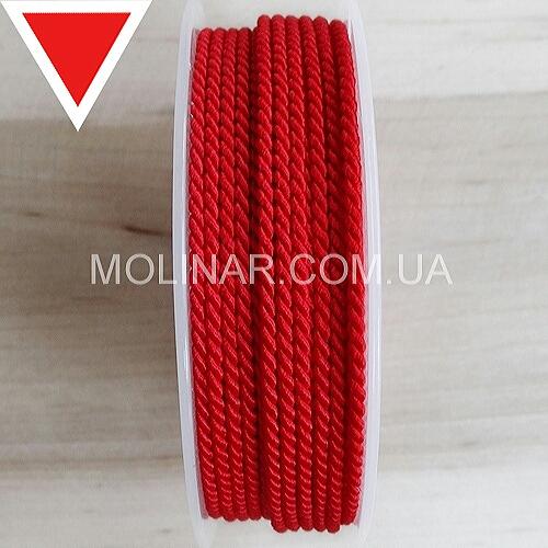 Шелковый шнур GRIFF - ∅2.0   Красный